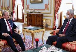 TBMM Başkanı Şentop, BM Genel Kurul Başkanı Bozkırı kabul etti