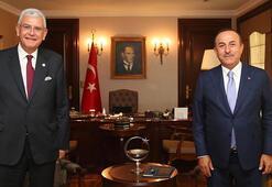 Dışişleri Bakanı Çavuşoğlu, BM Genel Kurul Başkanlığına seçilen Bozkır ile görüştü