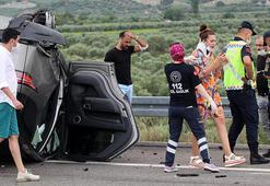 Son dakika haber... Alişanın eşi ve oğlunun da içinde bulunduğu cip 30 metre sürüklendi