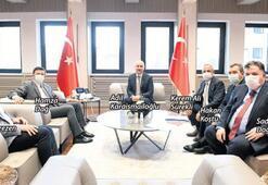 İzmir heyeti Ankara'da