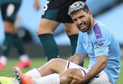 Manchester Cityli Agüero dizinden ameliyat edilecek