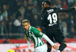 Beşiktaş ile Konyaspor 38. maça çıkıyor