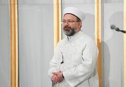 Ali Erbaş Ankarada sabah namazını kıldırdı