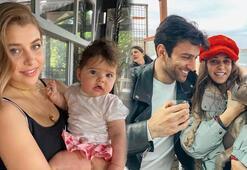 Gamze Erçel kızını paylaştı: Aynı babası oldu