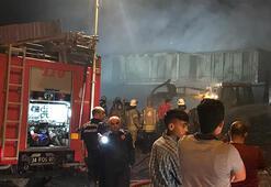 İstanbulun birçok noktasından görüldü Korku dolu gözlerle izlediler