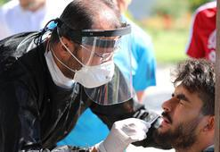 Sivasspor'a 7nci kez korona virüs testi yapıldı