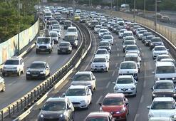 İstanbulda trafik yoğunluğu Yüzde 63e çıktı