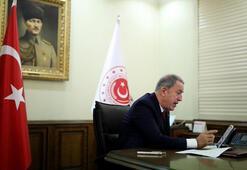 Son dakika...  Bakan Akar, NATO Genel Sekreteri ile görüştü