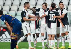 Ronaldo şov yaptı, Juventus farklı kazandı