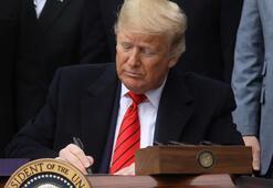 Son dakika... ABD Başkanı Trump kritik imzayı attı