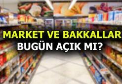 Bugün marketler ve bakkallar açık mı İçişleri Bakanlığı genelge ile duyurdu