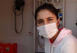 Annesi coronavirüs hastası öğrenci özel tedbirlerle sınava alındı