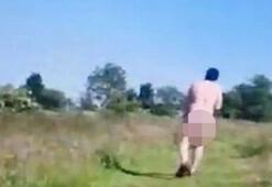 Son dakika... Parkta sapık var Çırılçıplak geldi, kızların yanına gidip...