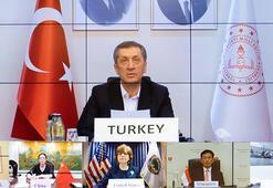 Milli Eğitim Bakanı Selçuk, Türkiyenin corona virüs mücadelesini G20 ülkelerine anlattı