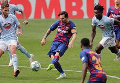 Okay Yokuşlu asist yaptı Celta Vigodan Barcelonaya son dakika şoku...