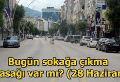 YKS sokağa çıkma yasağı saat kaçta sona erecek 28 Haziran sokağa çıkma yasağı saatleri...
