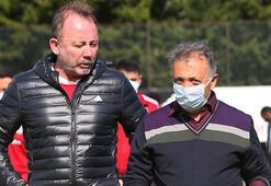 Son dakika haberler - Ahmet Nur Çebiden Sergen Yalçına jest