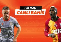 Başakşehir - Galatasaray maçı Tek Maç ve Canlı Bahis seçenekleriyle Misli.com'da