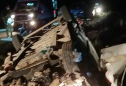 Vanda sığınmacıları taşıyan minibüs devrildi: 1 ölü, 41 yaralı