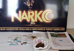 Edirne'de uyuşturucu ticaretine 2 tutuklama