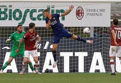 Hakan Çalhanoğlu gol attı Milan, Romayı yıktı