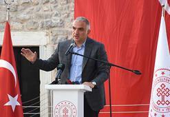 Kültür ve Turizm Bakanı Ersoy, Bodrum Kalesinin açılışında konuştu