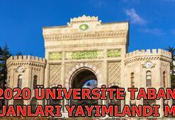 YÖK Atlas Üniversite taban puanları 2019 Önlisans, Lisans Üniversite taban puanları ve sıralamalar...