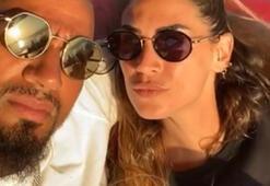 Kevin Prince Boateng ve eşinin tekne keyfi...