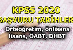 KPSS başvuru tarihleri ne zaman KPSS başvuru ücreti ne kadar ÖSYM duyurdu