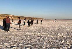 Tuz Gölünde ziyaretçi sayısı azaldı
