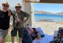 Erkan Can ile Güven Kıraç karavanla tatile çıktı