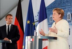 Merkelden ekonomi Macrondan Hafter itirafı