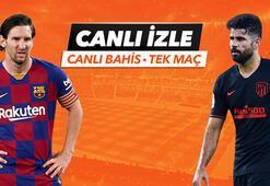 Barcelona - Atletico Madrid maçı canlı bahis heyecanı Misli.comda