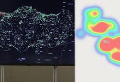 Son dakika haberleri | Koronavirüs vaka sayısında korkutan artış Bir mahallede kabus haritaya yansıdı: Kurtulmak istiyoruz