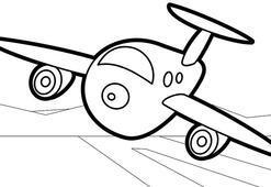 Uçak boyama sayfası