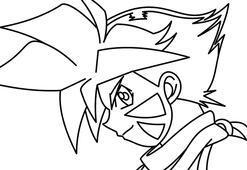 Beyblade Kai boyama sayfası