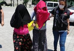 Samsunda amca kızları uyuşturucu ticaretinden tutuklandı