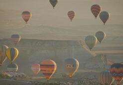 Son dakika... Kapadokyada sıcak hava balonu turları, 1 Ekime ertelendi