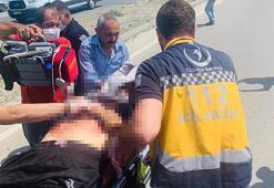 Kaza yerinde kalp masajıyla hayata döndürüldü, hastanede öldü