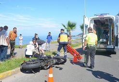 Orduda motosiklet kazası