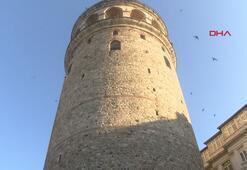 Galata Kulesinde restorasyon hazırlıkları başladı