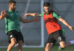 Konyasporda Çaykur Rizespor maçı hazırlıkları