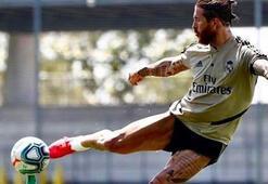 Sergio Ramostan şık hareketler