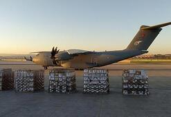 Türkiye Iraka yardım eli uzattı Tıbbi malzeme...