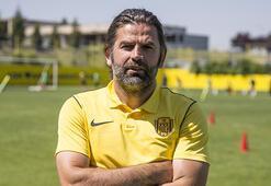 MKE Ankaragücü Teknik Direktörü İbrahim Üzülmez: Hedefim 15 puan