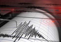 Son dakika Manisada korkutan deprem