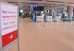 Dış hat yolcuları için koronavirüs test merkezi kuruldu