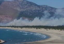 Son dakika haberi: Haberler peş peşe geldi Tatil beldesinde korkutan yangınlar
