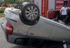 Malatyada otomobiller çarpıştı: 4 yaralı