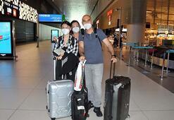 3 aylık aradan sonra Romadan ilk uçak İstanbul Havalimanına indi